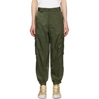 Enfants Riches Deprimes Green Logo Cargo Pants Olive