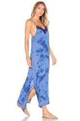 Amuse Society Amora Dress Blue