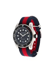 Gucci Quartz Xl Dive Watch Metallic