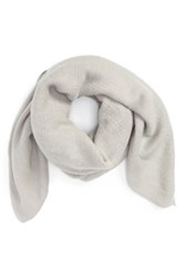 Bp Knit Square Scarf Gray