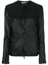 Giorgio Brato Slim Zipped Jacket Black