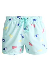 Boardies Flag Swimming Shorts Mint