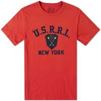 Rrl Graphic Tee Red
