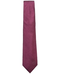 Ryan Seacrest Distinction Men's David Nonsolid Silk Tie Created For Macy's Wine