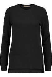 Michael Michael Kors Wool And Cashmere Blend Sweater Black
