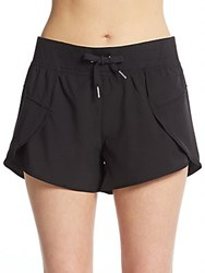 Calvin Klein Commuter Drawstring Shorts Black