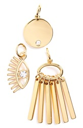 Baublebar 'Lashed Out Weekend' Charms Set Of 3 Gold