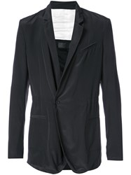 Haider Ackermann Fitted Blazer Black