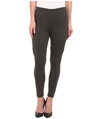 Miraclebody Jeans Alice Seam Ponte Leggings Heather Grey Women's Casual Pants Gray