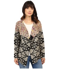 Brigitte Bailey Clea Printed Cardigan Multi Women's Sweater