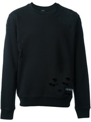 Les Artists Art Ists Crew Neck Jumper Black
