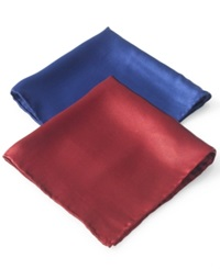 Club Room Clubroom Pocket Square Silk Solid Pocket Square