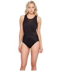 Miraclesuit Solids Palma One Piece Dd Cup Black Women's Swimsuits One Piece