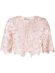D.Exterior Lace Cropped Jacket 60