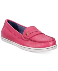Tommy Hilfiger Women's Butter Penny Loafers Women's Shoes Soft Pink
