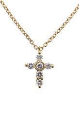 Bony Levy Women's Diamond Cross Necklace Nordstrom Exclusive Yellow Gold