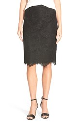 Women's Cece By Cynthia Steffe Corded Lace Pencil Skirt
