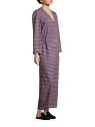 A Detacher Ornella Printed Jumpsuit Lotus Print