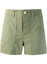 3X1 Sabine Shorts Green