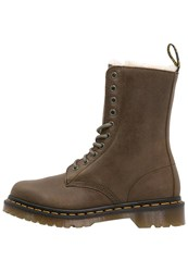 Dr. Martens 1490 Fl Laceup Boots Grenade Green