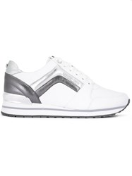 Michael Michael Kors Pannelled Sneakers White