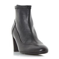 Linea Orrell Pull On Stretch Ankle Boots Black