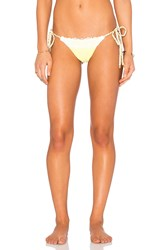 Beach Bunny Flamenca Bottom Yellow