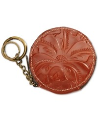 Patricia Nash Tooled Mini Scafati Key Chain Pouch Florence