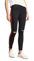 Blank Denim The Reade Crop Skinny Jeans With Exposed Zipper District 9
