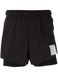 Satisfy Long Distance 3 Shorts Black