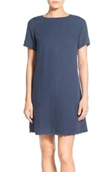 Women's Tommy Bahama 'Two Palms' Linen Shift Dress Ocean Deep