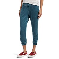 Nsf Sayde Reverse French Terry Sweatpants Turquoise