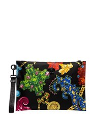 Versace Multicoloured Jewellery Print Clutch Bag Dmn1 Multicoloured