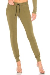 Cotton Citizen Milan Jogger With Ankle Zippers Green