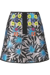 Peter Pilotto Asteroid Embellished Jacquard Mini Skirt Unknown