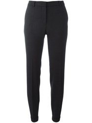 Incotex Tailored Slim Fit Trousers Grey