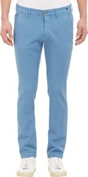 Mason's Chino Torino Trousers Blue