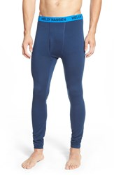 Helly Hansen Merino Wool Base Layer Pants Deep Blue