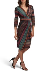 Eci Women's Stripe Sheath Dress Multi