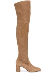 Casadei Over The Knee Boots Brown