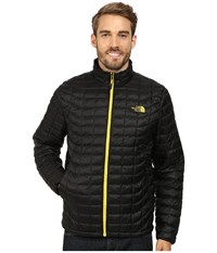 The North Face Thermoball Full Zip Jacket Tnf Black Sulphur Yellow Men's Coat