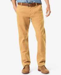 Dockers Slim Tapered Fit Alpha Khaki Pants Colonial Yellow