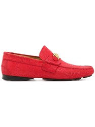 Versace Medusa Loafers Red