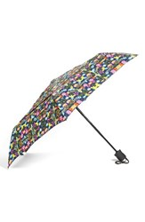 Shedrain Windpro Auto Open And Close Umbrella Blue Tropical