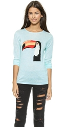 Banjo And Matilda Toucan Cashmere Sweater Menthol
