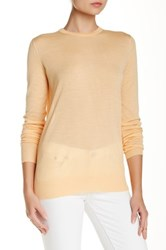 Proenza Schouler Crew Neck Merino Wool Sweater Orange