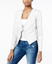 Guess Keri Asymmetrical Blazer True White