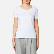 Boss Orange Women's Tashirt T Shirt White