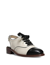 Sam Edelman Damian Leather Cap Toe Oxford Slingback