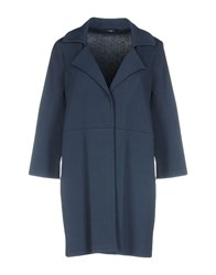 Anne Claire Anneclaire Overcoats Slate Blue